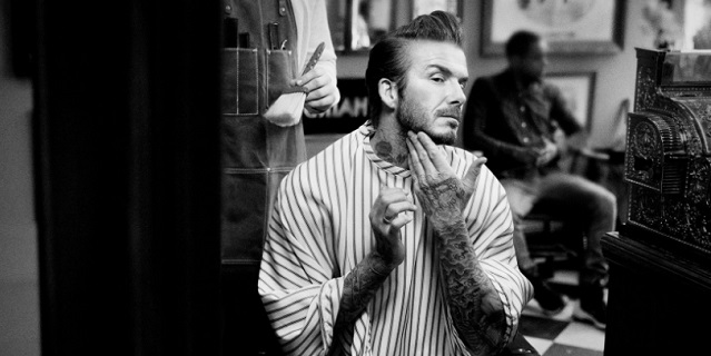 David Beckham lancia la sua nuova linea cosmetica House 99 così