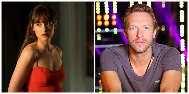 50 sfumature d'amore per Dakota Johnson e Chris Martin dei Coldplay, fotografati insieme