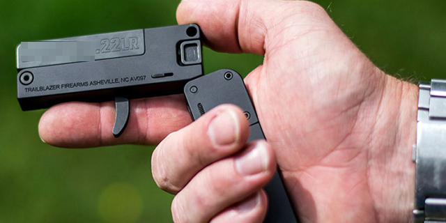 Gira una pistola grande come una carta di credito: attenzione