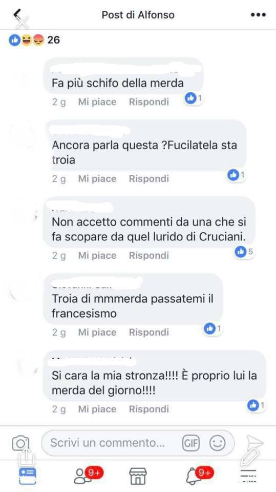 """""""Troppo sperma nello stomaco dà al cervello"""" gli insulti agghiaccianti a Selvaggia Lucarelli"""
