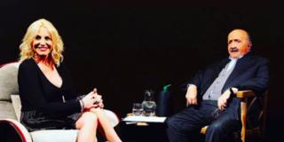 L'intervista: Antonella Clerici si racconta e piange da Costanzo