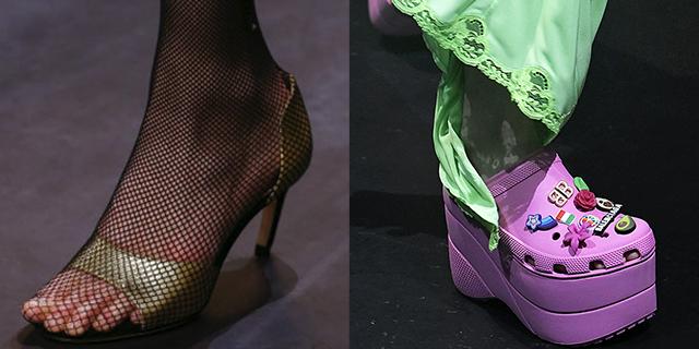 Calzini sopra i sandali e altre stranezze fashion della prossima stagione
