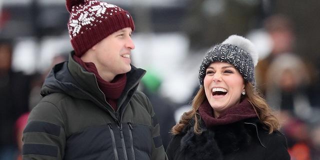 Kate Middleton sul ghiaccio: gioca a hockey con il pancione