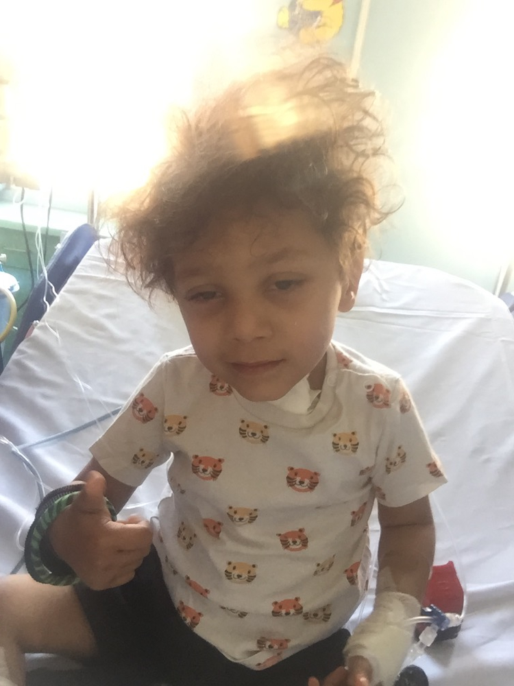 """""""Isaac ha 3 anni, aiutatelo a non restare tracheotomizzato a vita"""""""