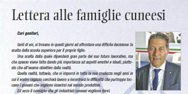 """Confindustria Cuneo ai giovani: """"Volete lavorare? Studiate poco"""""""