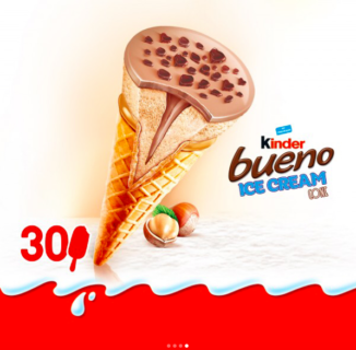 Ferrero annuncia l'arrivo dei gelati Kinder in Francia