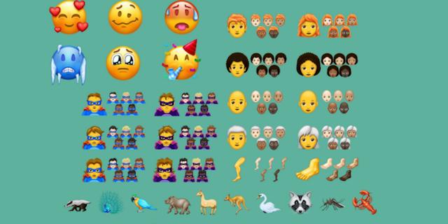 Tutte le emoji che vedremo nel 2018: 157 novità in arrivo