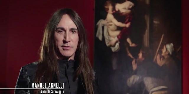 """Manuel Agnelli sarà la """"voce"""" di Caravaggio"""