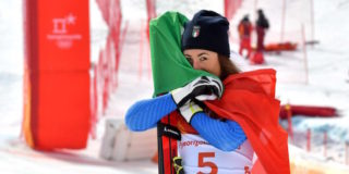 Olimpiadi 2018, Sofia Goggia vince l'oro in discesa libera