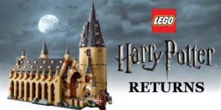 Lego annuncia un nuovo kit dedicato a Harry Potter, i fan del maghetto potranno ricostruire la Sala Grande del castello di Hogwarts: ecco tutti i pezzi e le foto del set.