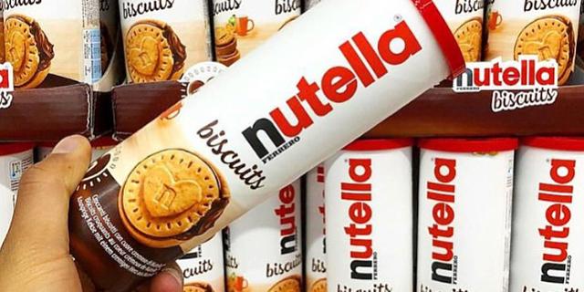 Arrivano in Italia i Nutella Biscuits: dite pure addio alla dieta