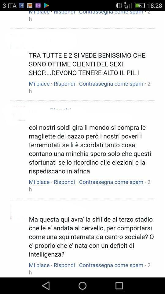 """Tossica: speriamo attacchi l'Aids a negri e antifascisi"": gli insulti a Giada"