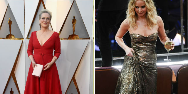 Immensa Meryl Streep in Dior, folle Jennifer Lawrence e le donne degli Oscar