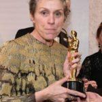 Oscar 2018, rubata e ritrovata la statuetta di Frances McDormand