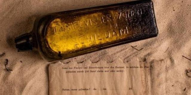 Il più vecchio messaggio in bottiglia ha 132 anni e finalmente è stato trovato