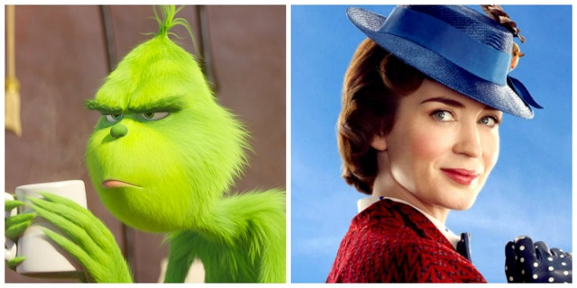 Il Grinch e Mary Poppins: 4 minuti di trailer che ci fanno tornare bambini