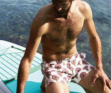 Da ricercatori a modelli: Luca e Tommaso per la nuova campagna beachwear di Chimborazo