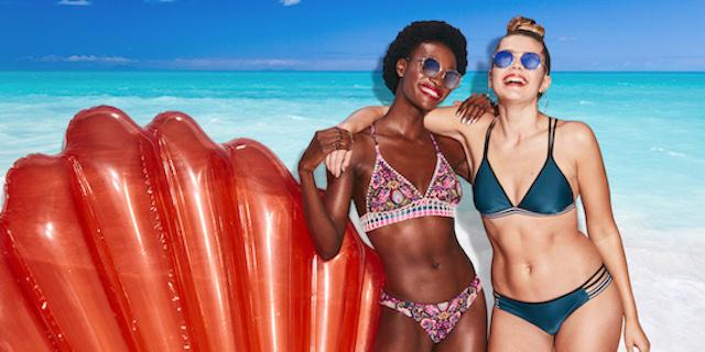 Target rinuncia a Photoshop, solo donne al naturale nella sua campagna di swimwear