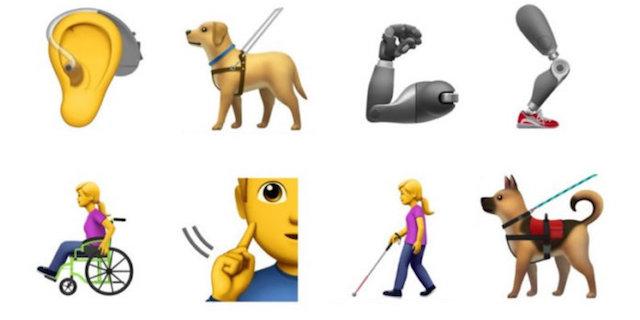 Presto sui nostri smartphone potrebbero arrivare le emoji sulla disabilità