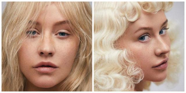 """La """"cruda bellezza"""" di Christina Aguilera, stupenda senza make up"""