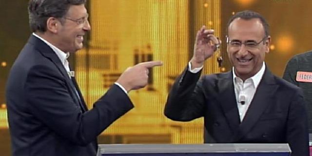 Carlo Conti e Fabrizio Frizzi