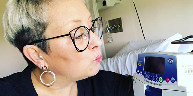 La lettera di Carolyn Smith contro il suo nemico, il tumore che è tornato