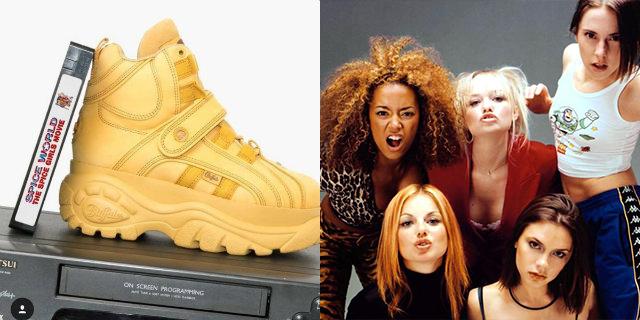 Le scarpe delle Spice Girls sono tornate!