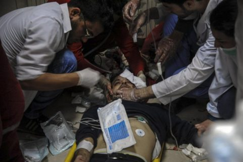 """Douma: """"I bambini soffocano e muoiono con la schiuma alla bocca"""""""