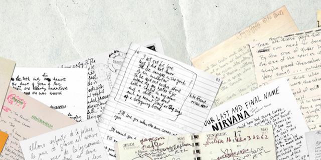 Le scritture di Cobain, Bowie e Lennon diventano font per il computer
