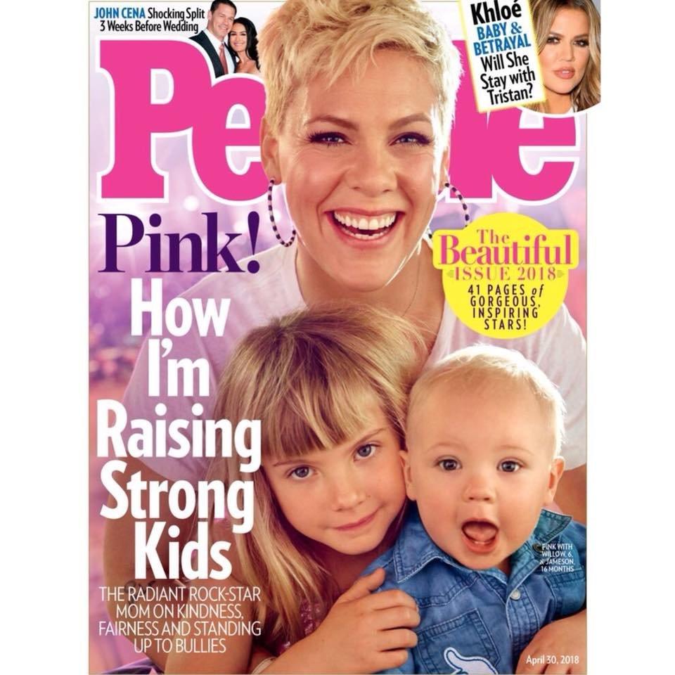 Pink è la più bella del mondo secondo People. Chi sono le altre