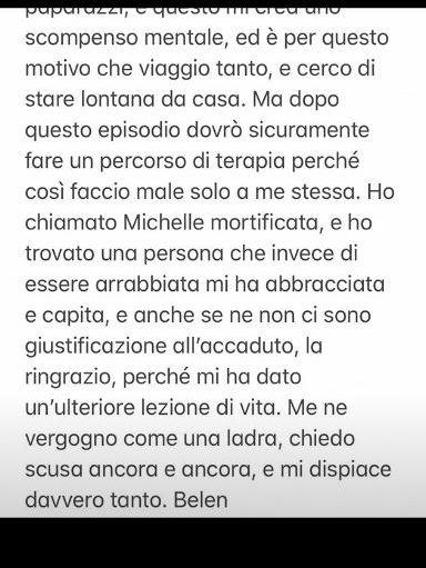 """La risposta di Michelle Hunziker alla """"cattiveria colossale"""" di Belen"""