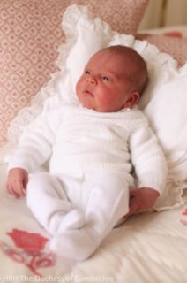 Principino Louis, vita da terzo Royal Baby