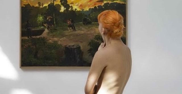 Nudi al museo, l'iniziativa naturista del Palais de Tokyo