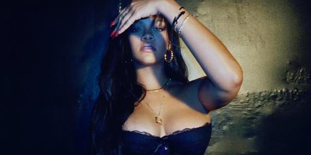 Rihanna provoca con la sua linea di sexy lingerie