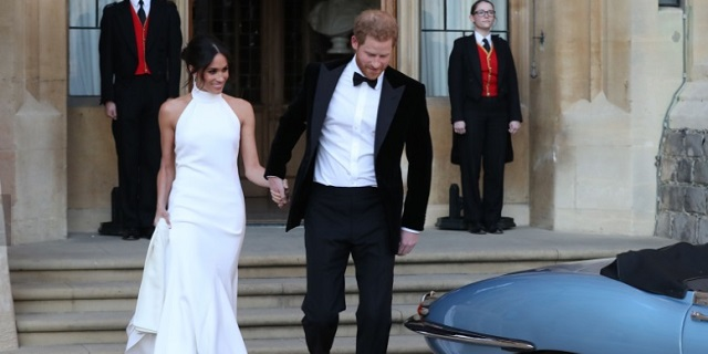 L'altro abito di Meghan per la festa di matrimonio che ha incantato tutti