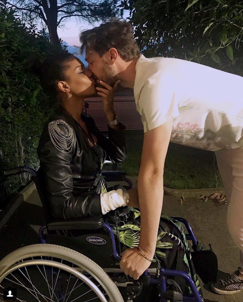"""Georgette Polizzi: """"Ritrovarsi all'improvviso sulla sedia a rotelle"""""""