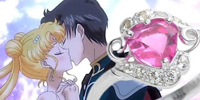 Arriva l'anello di fidanzamento di Sailor Moon