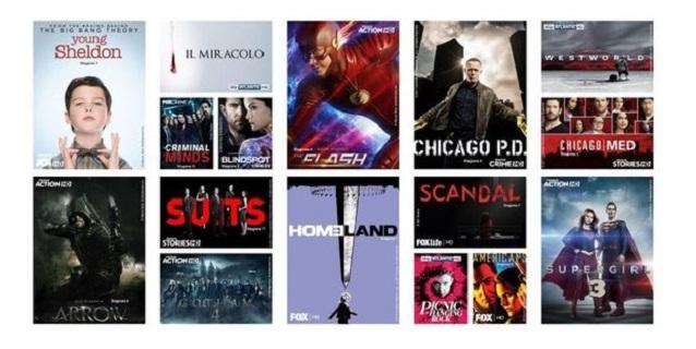 Sky apre a Mediaset: sono arrivate le serie tv Premium