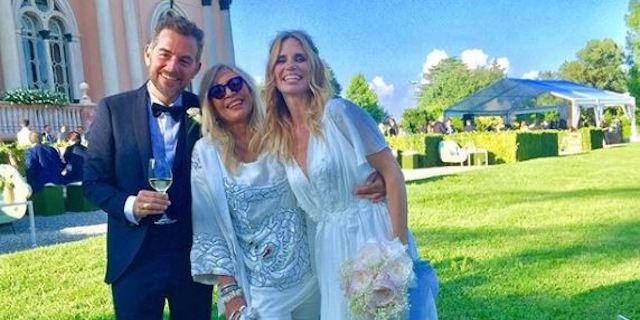 Com'erano vestiti gli invitati al matrimonio di Daniele Bossari e Filippa Lagerback