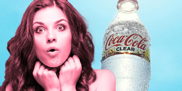 Perché Coca Cola Clear è la nuova Coca Cola… trasparente