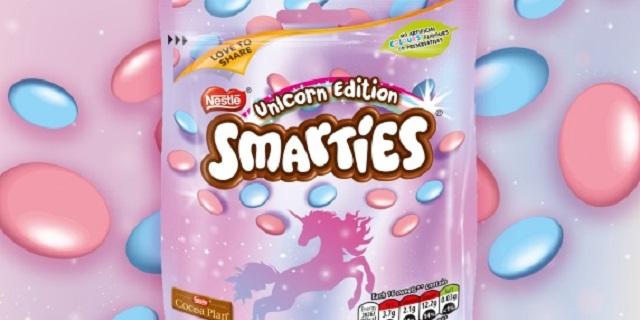 Arrivano gli Smarties unicorno, ecco chi li vende
