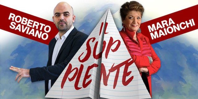 Il supplente, Saviano e Maionchi in cattedra su Rai 2