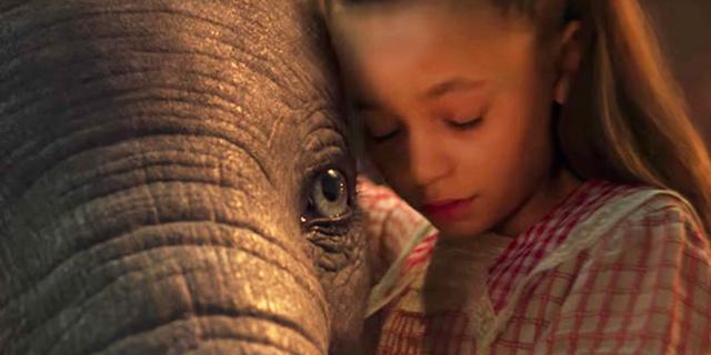 Le prime immagini e il trailer di Dumbo, il nuovo film Disney
