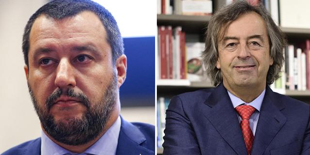 """Salvini: """"Troppi 10 vaccini"""". Burioni: """"Servono anche a proteggere i suoi figli"""""""