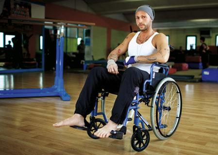 Ivan, il modello-guerriero che non si lascia sconfiggere dalla sclerosi multipla