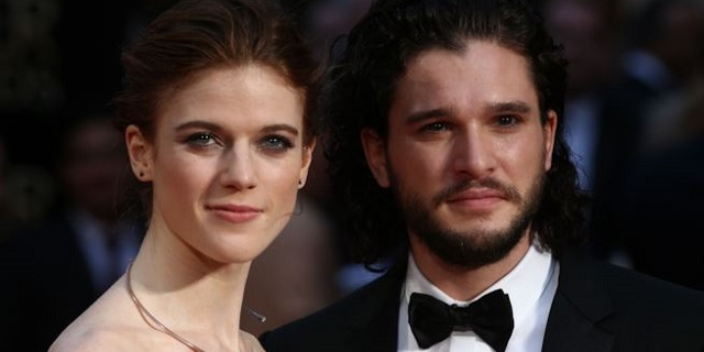 Dal set di Game of Thrones all'altare: Harington e Leslie si sposano
