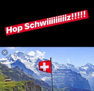 """Sfida mondiale Hunziker-Lagerback: la """"punizione"""" toccata a Michelle"""