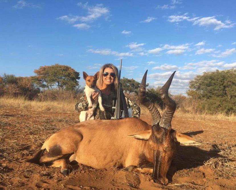 Uccide una giraffa e posta orgogliosa la foto: l'ira del web