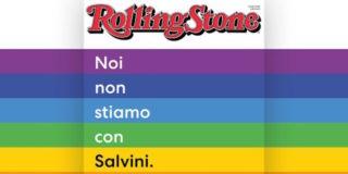 """""""Noi non stiamo con Salvini"""": la copertina di Rolling Stone diventa un boomerang"""