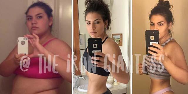 La trasformazione di Laura: da 136 a 88 chili in tre anni